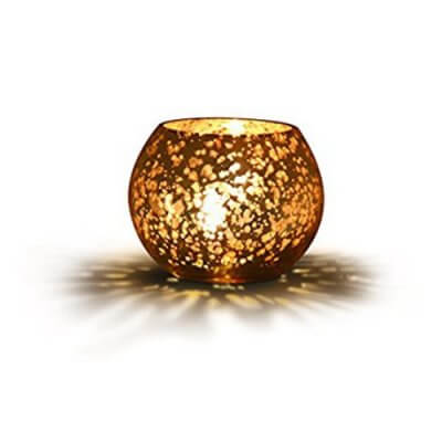 Philips Vibrant Expressions 91145 LED Candle Light (Silver and Gold)
