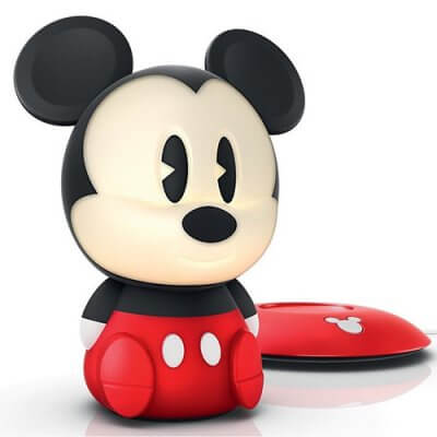 71709/30 Disney Philips Mickey Mouse SoftPal Portable LED Light Friend