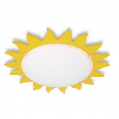 30063/34 Philips Good Time Sunshine  Ceiling/Wall Light (Yellow)