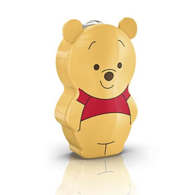 71767 /34 Disney Flash light Winnie the Pooh, yellow, LED