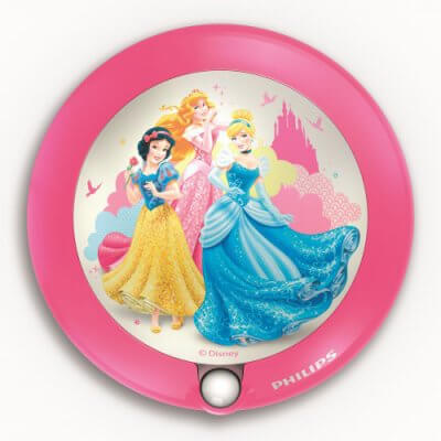 71765/28 Disney Sensor night light Princess, pink, LED