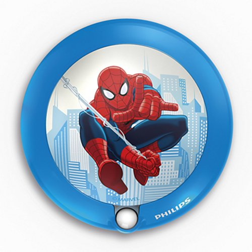 71765 / 40 Marvel Sensor night light Spider-Man, blue, LED