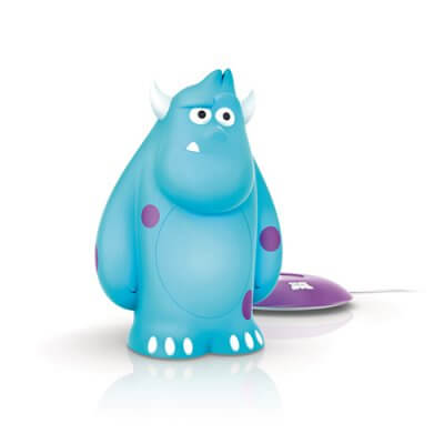 71705-83 Disney SoftPal Portable light friend Sulley, blue, LED
