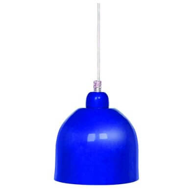 33389 Blue Pendant Wall Light