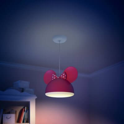 71758 / 31 Philips Disney Minnie Mouse Suspension Light (Adjustable Height)