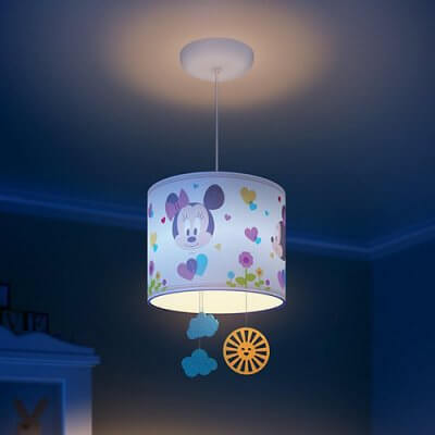 71753/31 Philips Disney Minnie Mouse Suspension Light (Adjustable Height)