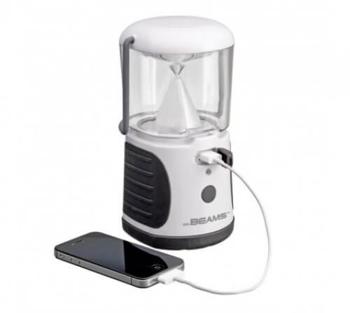 Rechargeable Ultra Bright LED Lantern  With USB Output  MB 470R/480R