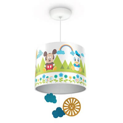 71753/30  Philips Disney Suspension light  Mickey Mouse white