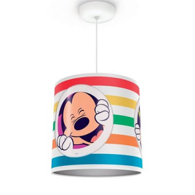 71752-30 Mickey Philips Disney Mickey Mouse Suspension Light (Adjustable Height)
