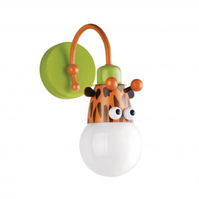 30656/55 Philips Kidsplace Wall Light (Giraffe) (Non-Toxic Paint)
