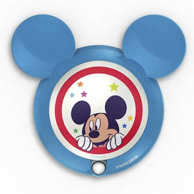 71766/30  Disney Sensor night light Mickey, blue, LED