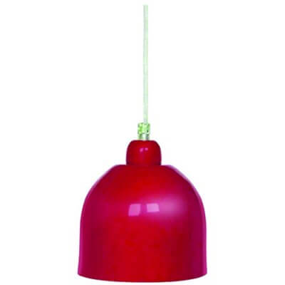 33390 Red Pendant Wall Light